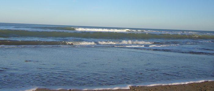 Playa en Alquiler de cabañas en Valeria del Mar
